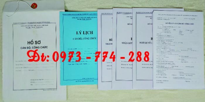 Túi hồ sơ công chức viên chức mẫu B0119