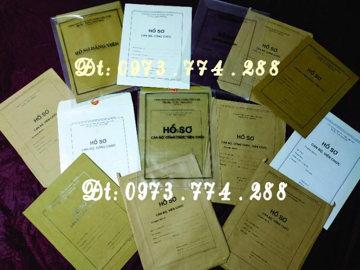 Túi hồ sơ công chức mẫu b010