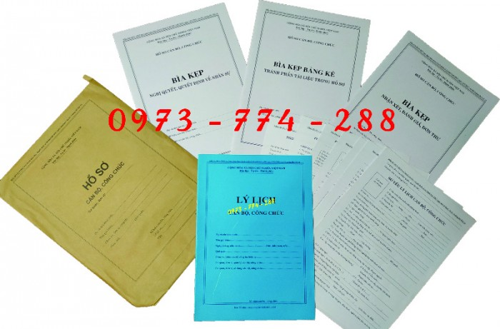 Túi hồ sơ công chức mẫu b012