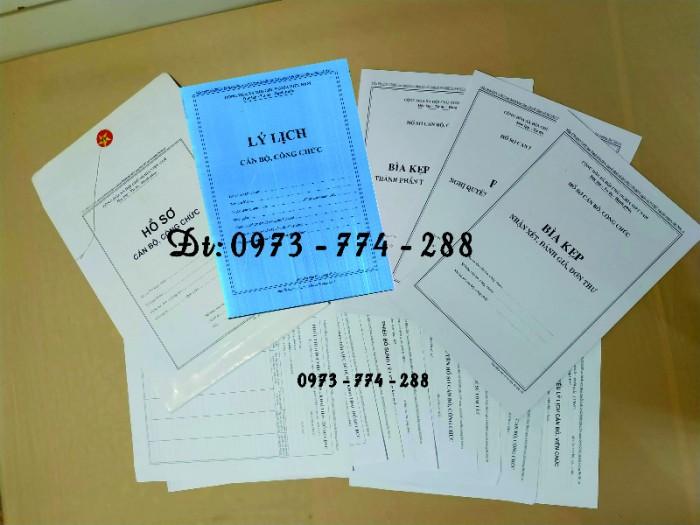 Túi hồ sơ công chức mẫu b013