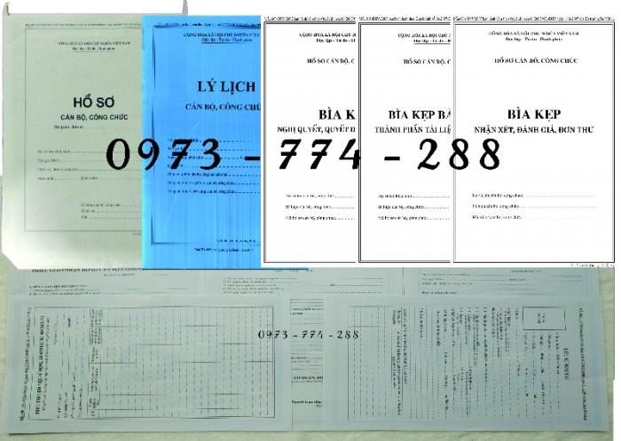 Túi hồ sơ công chức mẫu b014