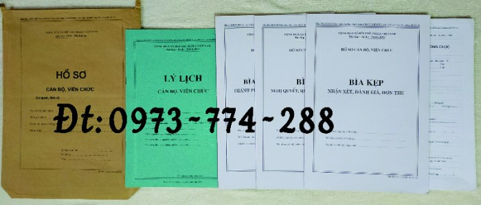 Túi hồ sơ công chức mẫu b015