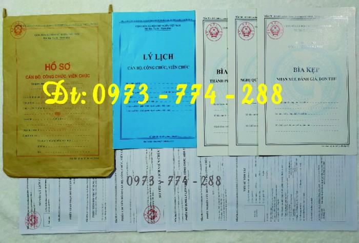 Túi hồ sơ công chức mẫu b017