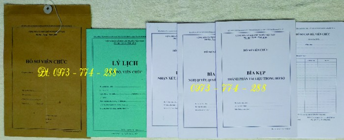 Túi hồ sơ công chức mẫu b0111
