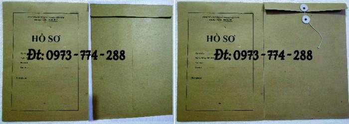 Túi hồ sơ công chức mẫu b0114