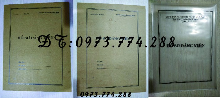 Túi hồ sơ công chức mẫu b0115