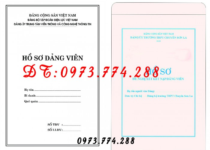 Túi hồ sơ công chức mẫu b0116