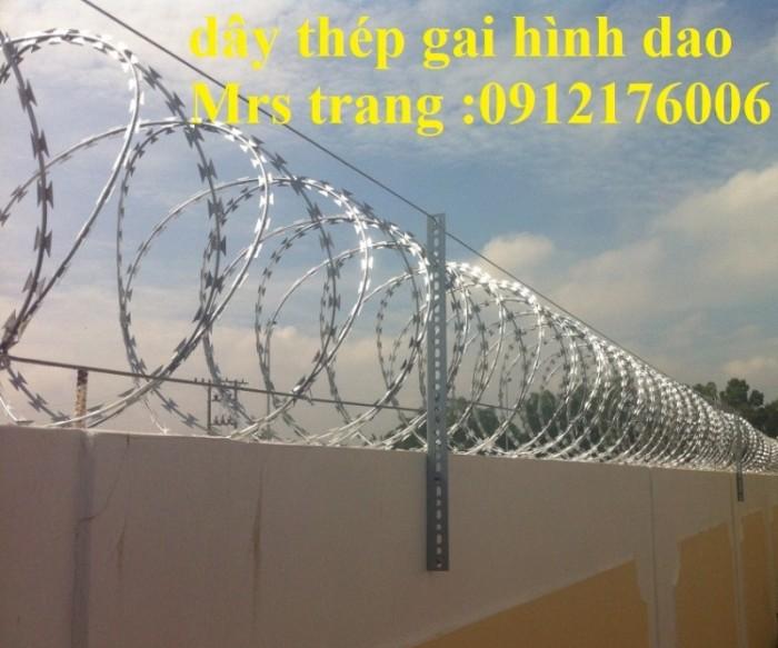 Dây thép  gai hình dao giá tốt tại Hà Nội4