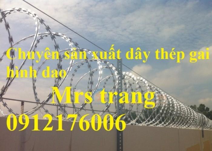 Dây thép  gai hình dao giá tốt tại Hà Nội8