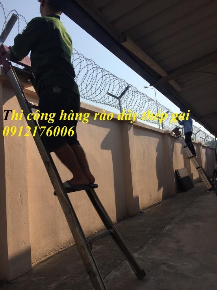 Dây thép  gai hình dao giá tốt tại Hà Nội9