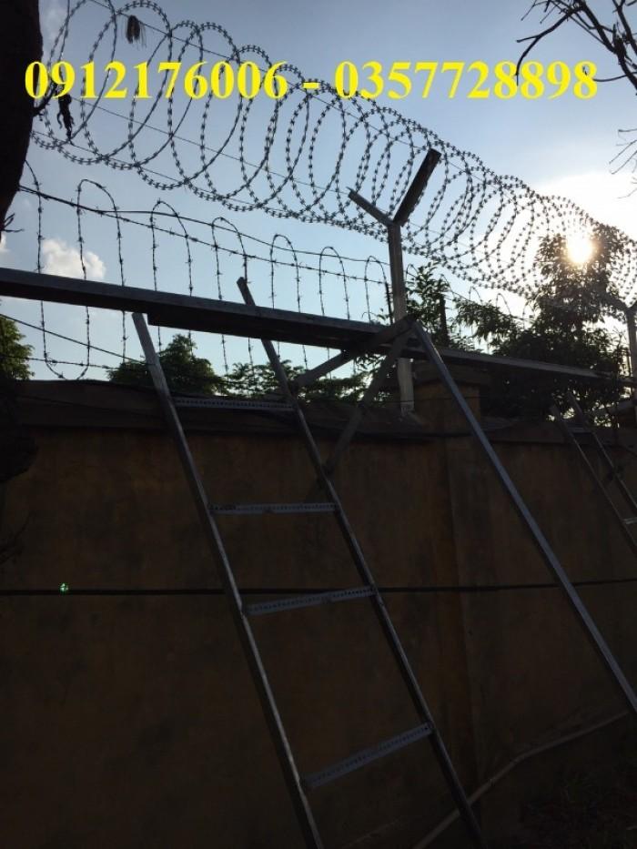Dây thép  gai hình dao giá tốt tại Hà Nội7