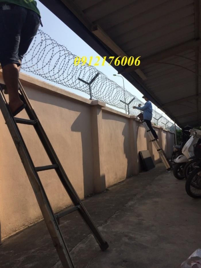 Dây thép  gai hình dao giá tốt tại Hà Nội12