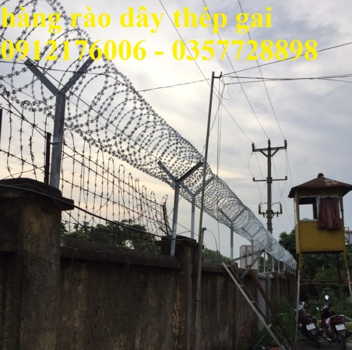 Dây thép  gai hình dao giá tốt tại Hà Nội19