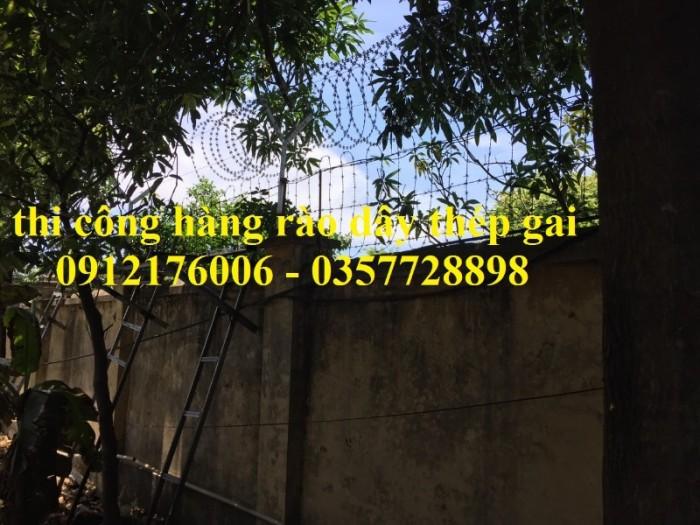Dây thép  gai hình dao giá tốt tại Hà Nội17