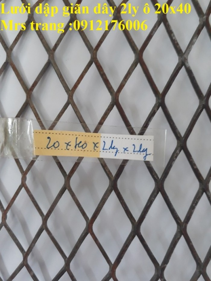 Lưới trám, lưới hình thoi, lưới kéo giãn7