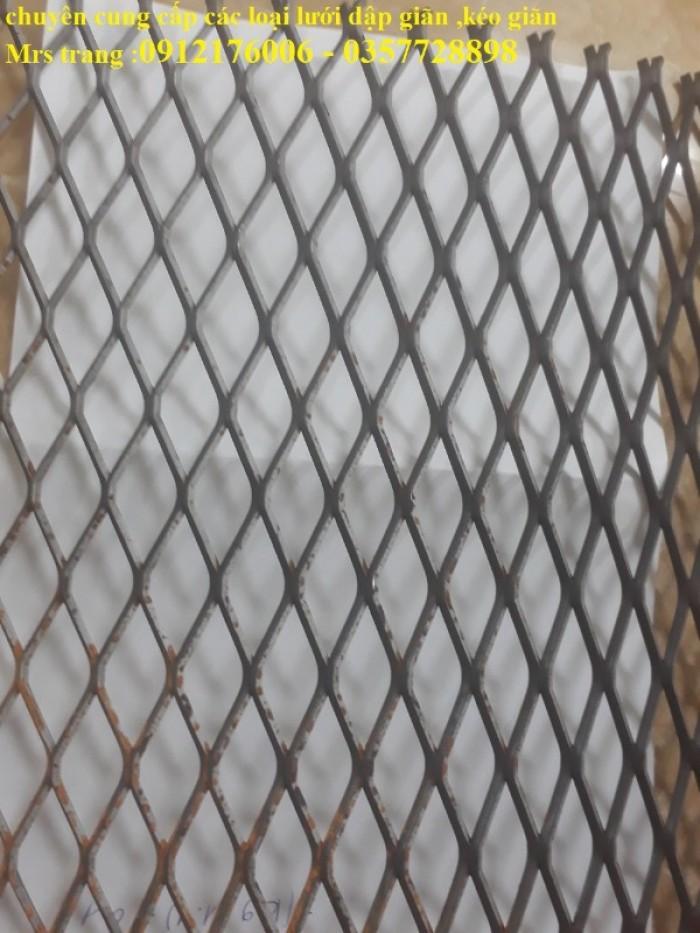 Lưới trám, lưới hình thoi, lưới kéo giãn6