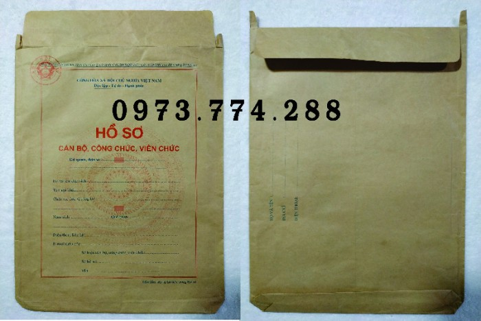 Túi hồ sơ viên chức25