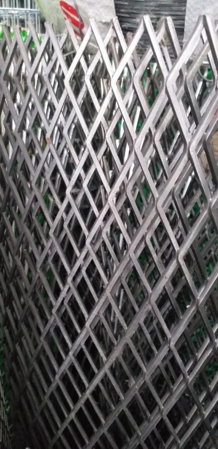 Lưới trám, lưới hình thoi, lưới kéo giãn hàng sẵn kho15