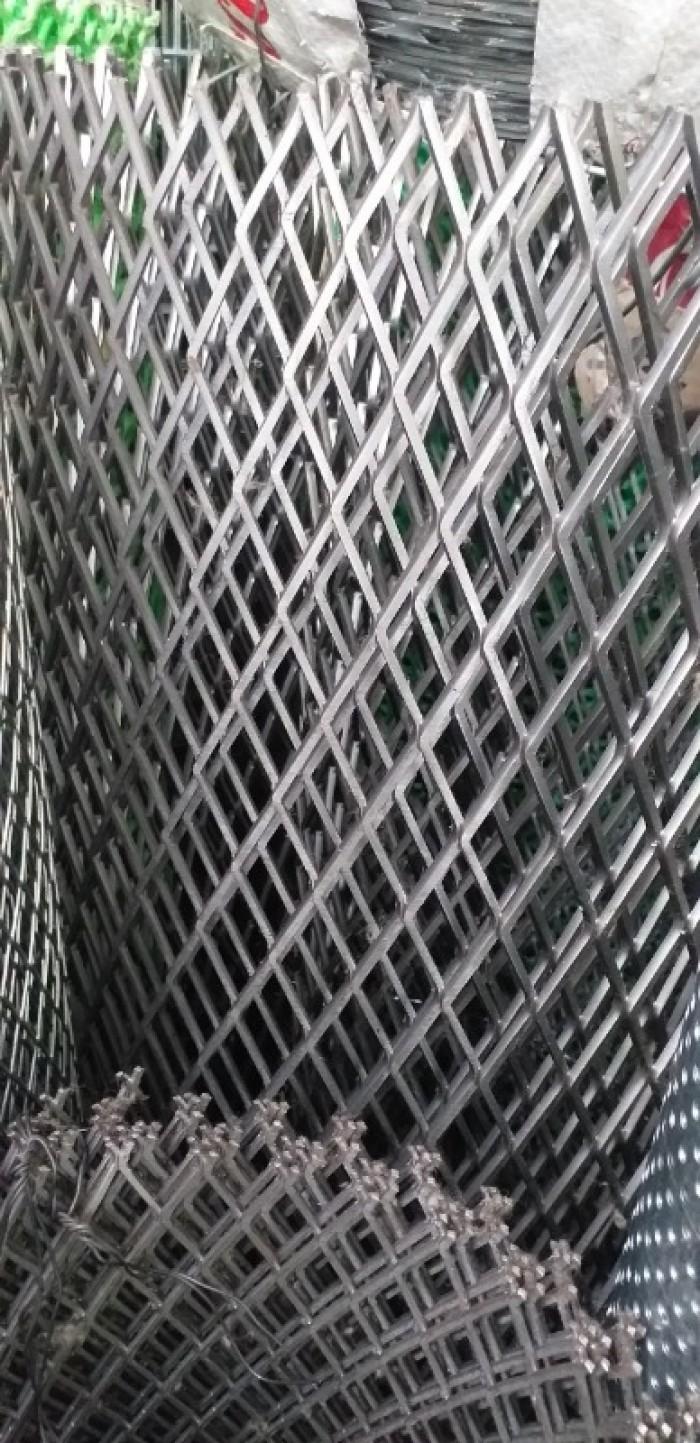 Lưới trám, lưới hình thoi, lưới kéo giãn hàng sẵn kho16