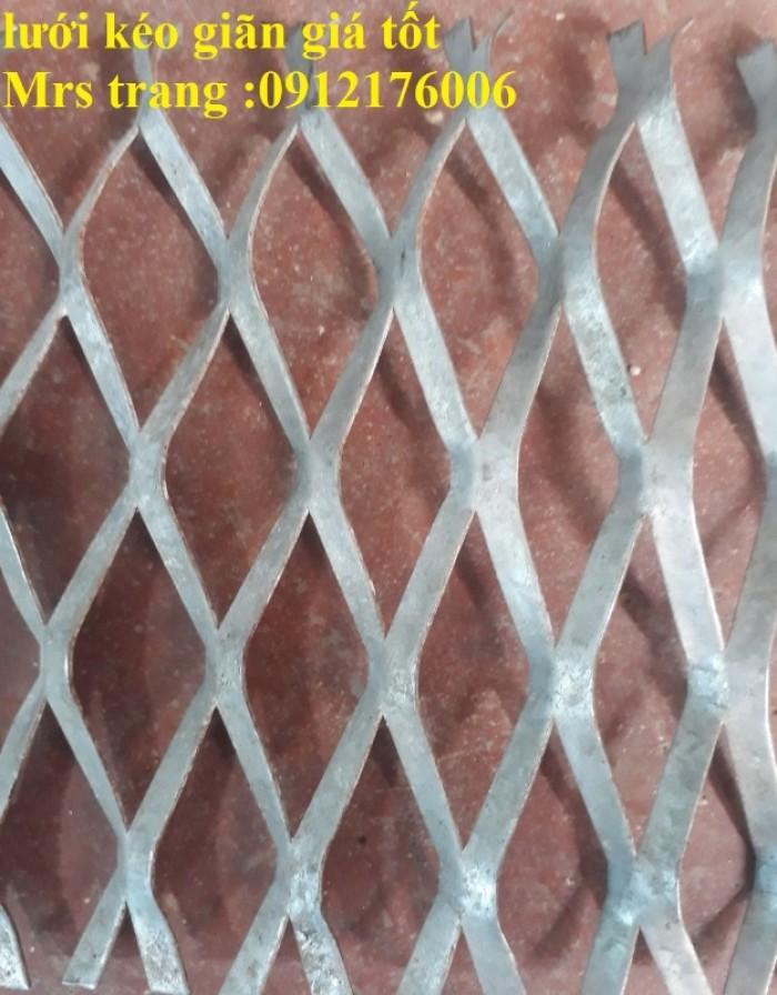 Lưới trám, lưới hình thoi, lưới kéo giãn tại Hà Nội10