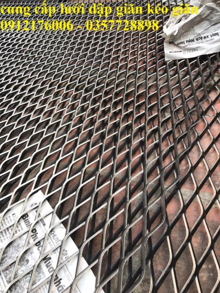 Lưới trám, lưới hình thoi, lưới kéo giãn tại Hà Nội15