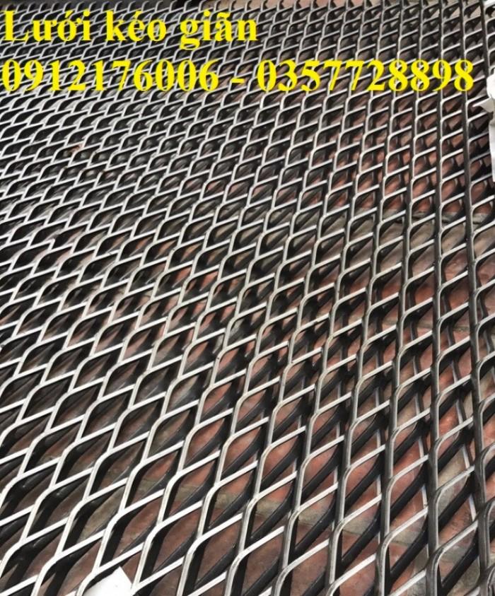 Lưới trám, lưới hình thoi, lưới kéo giãn tại Hà Nội13