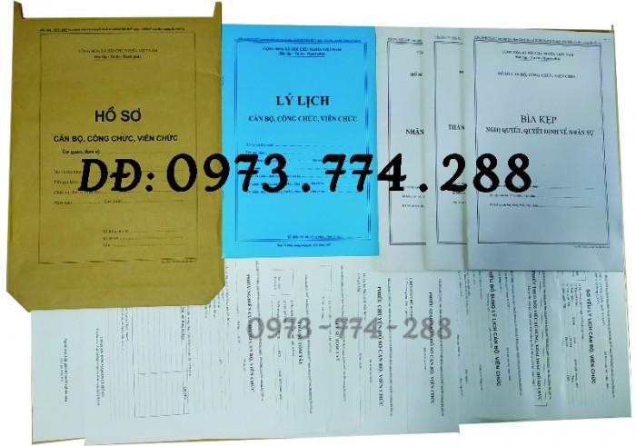 Bộ hồ sơ công chức viên chức0