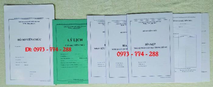 Bộ hồ sơ công chức viên chức5