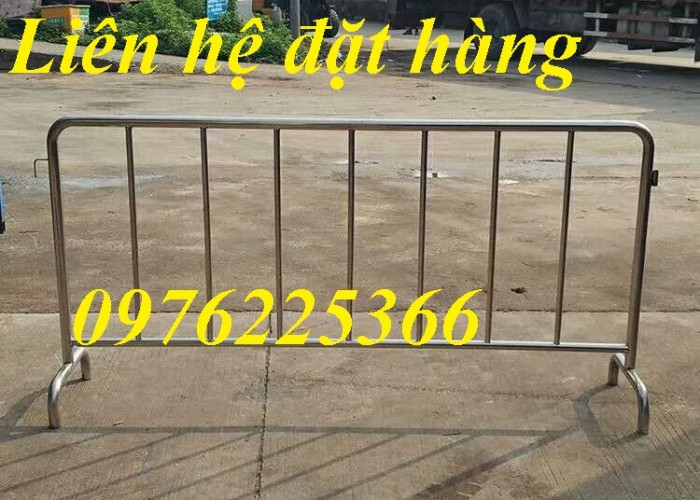 Hàng rào di động, chuyên sản xuất khung hàng rào chắn giá rẻ