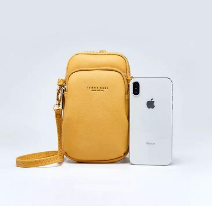Túi đeo chéo đựng điện thoại 2 ngăn Forever Young7