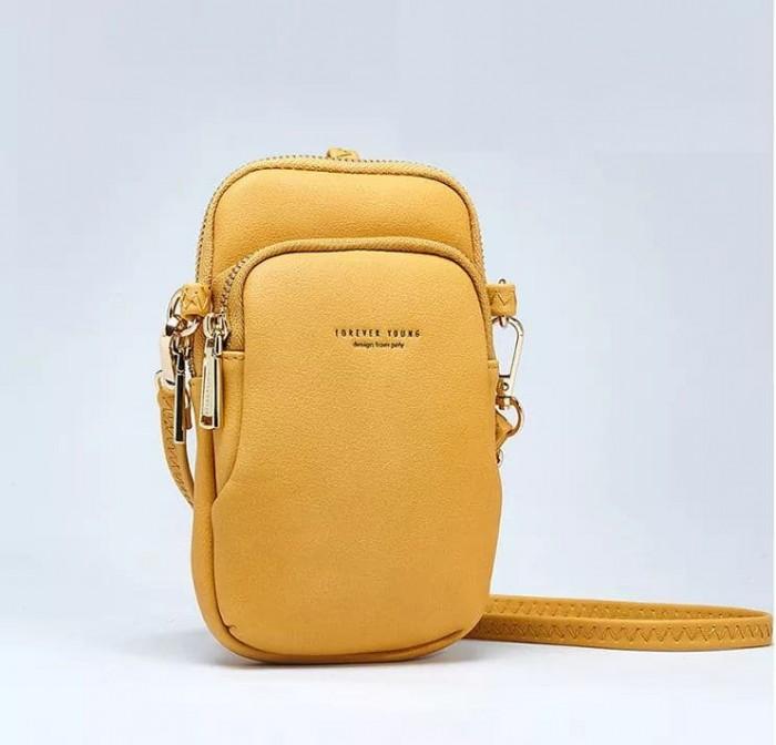 Túi đeo chéo đựng điện thoại 2 ngăn Forever Young5