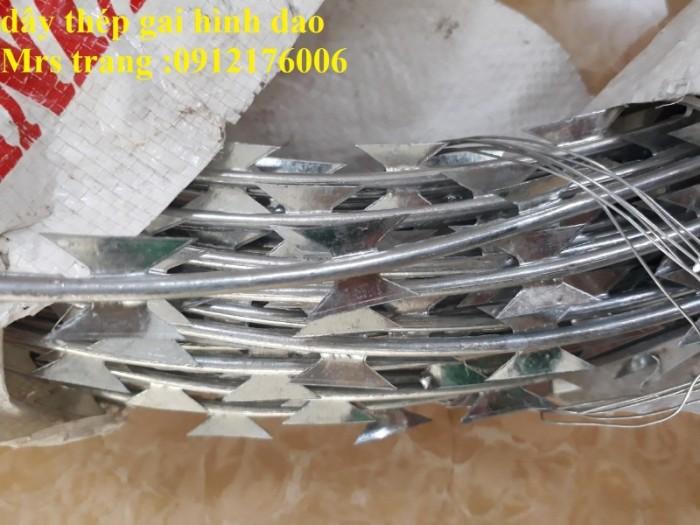 Dây thép gai hình dao ĐK 35cm, 45cm ,60cm, 80cm11
