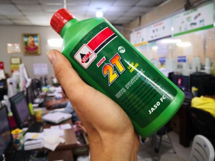 Nhớt Nhập Thái VELOIL 2T Cho Xe 2 Thì