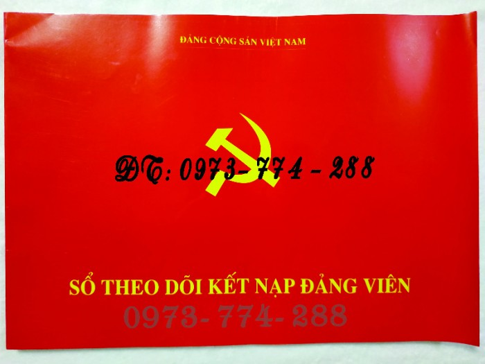 Quyển lý lịch của người xin vào Đảng29