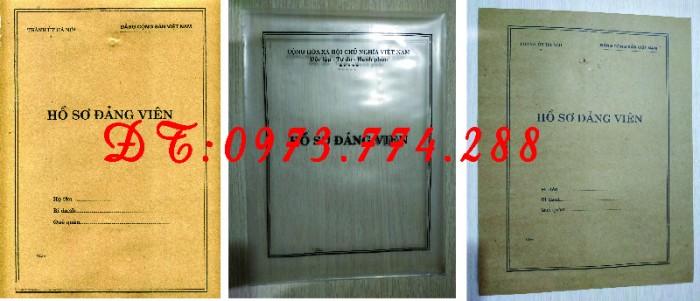 Quyển lý lịch của người xin vào Đảng mẫu 2-KNĐ20