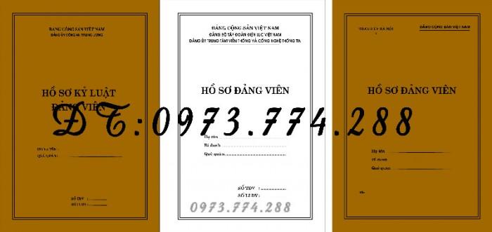 Quyển lý lịch của người xin vào Đảng mẫu 2-KNĐ21