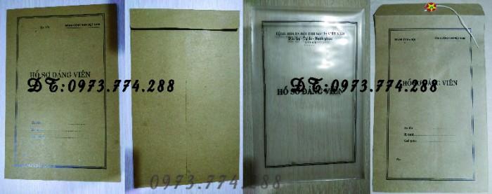 Quyển lý lịch của người xin vào Đảng mẫu 2-KNĐ22