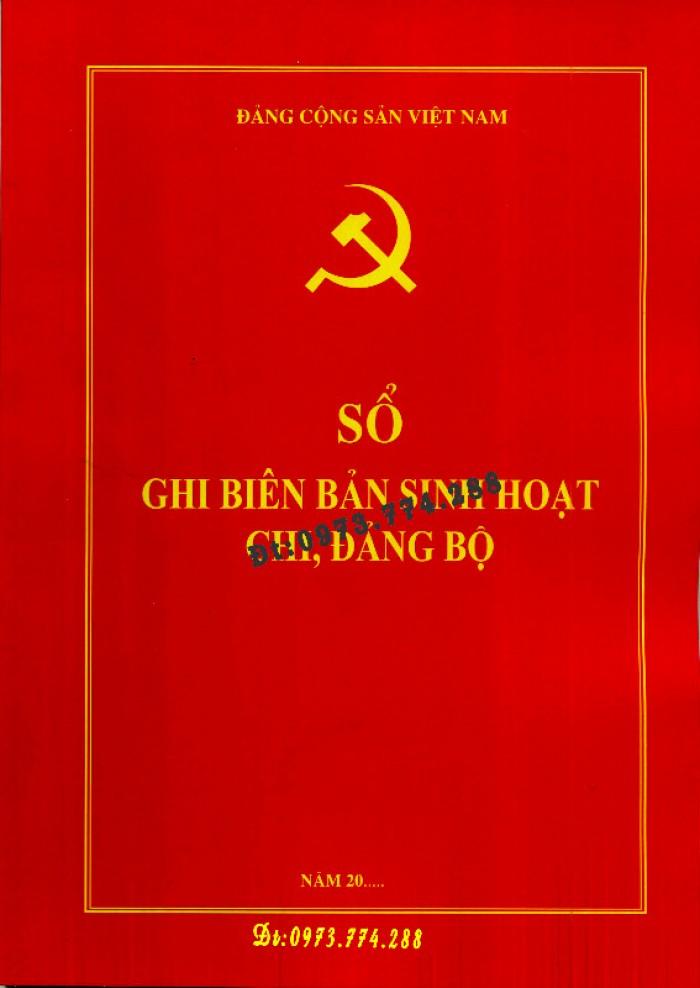 Quyển lý lịch Đảng viên Sổ đoàn viên  - Sổ chi đoàn30