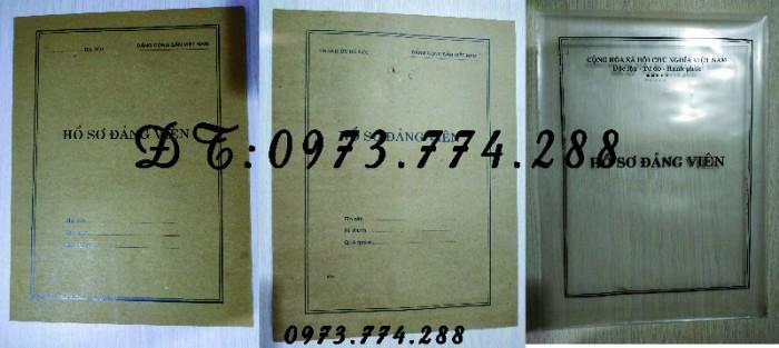 Bán lý lịch của người xin vào Đảng19