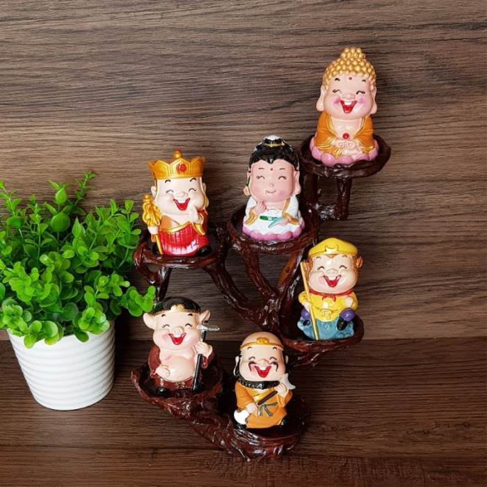 Bộ tượng chibi Thầy Trò Đường Tăng - Tây Du Ký 6cm6
