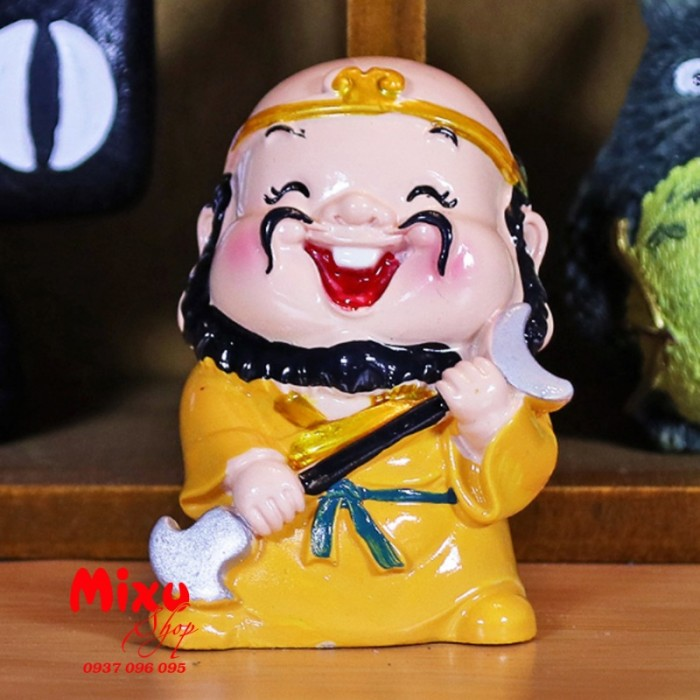 Bộ tượng chibi Thầy Trò Đường Tăng - Tây Du Ký 6cm12