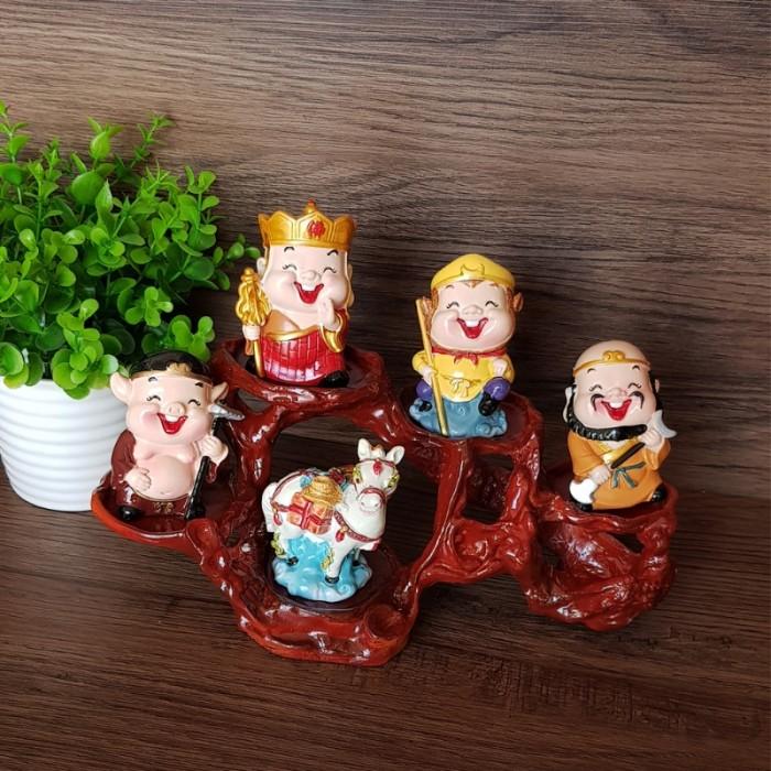 Bộ tượng chibi Thầy Trò Đường Tăng - Tây Du Ký 6cm10