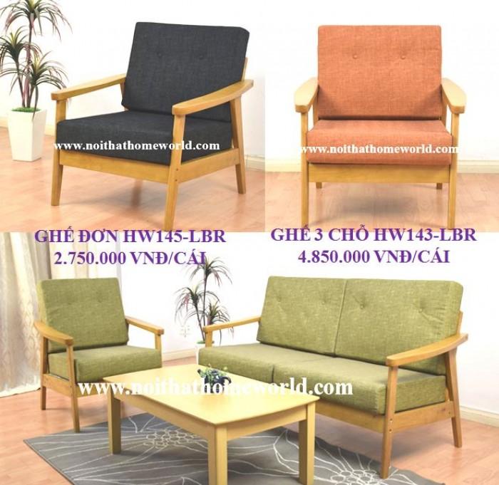 Sofa đơn khung gỗ hw145 - homeworld3