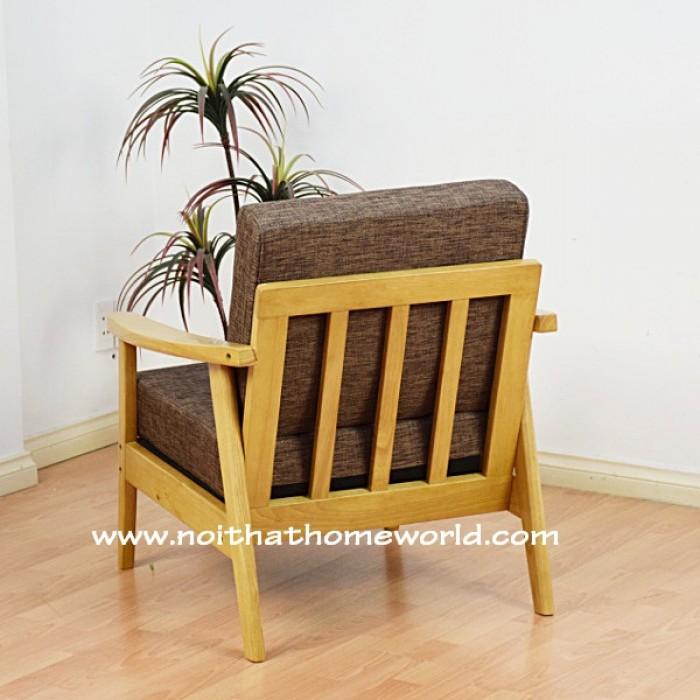 Sofa đơn khung gỗ hw145 - homeworld15
