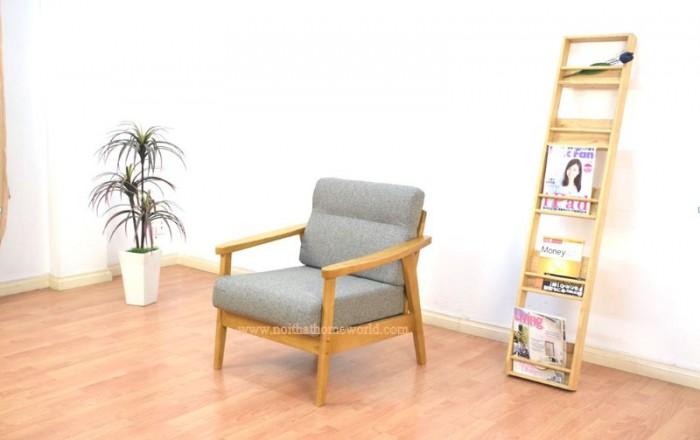Sofa đơn khung gỗ hw145 - homeworld14