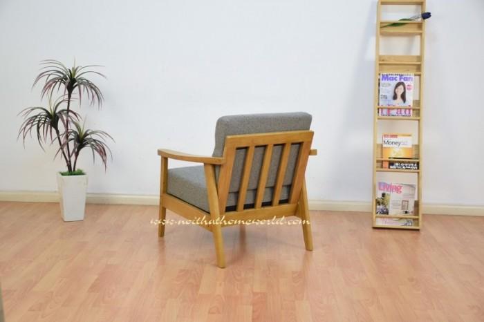 Sofa đơn khung gỗ hw145 - homeworld21