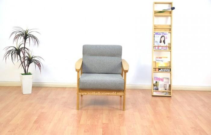 Sofa đơn khung gỗ hw145 - homeworld18