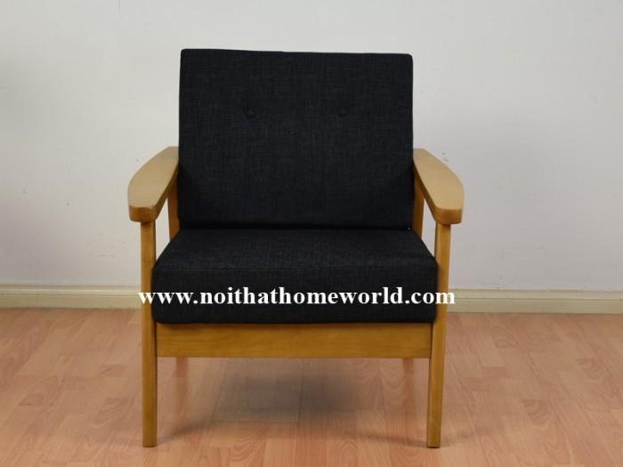 Sofa đơn khung gỗ hw145 - homeworld1