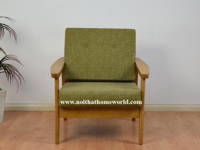 Sofa đơn khung gỗ hw145 - homeworld19