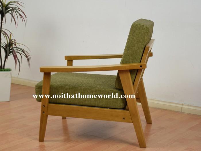 Sofa đơn khung gỗ hw145 - homeworld22
